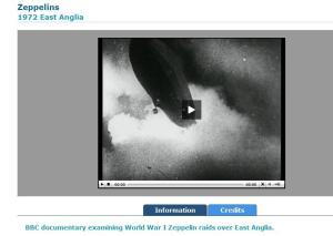 Zeppelins over East Anglia, a BBC documentary from 1972