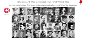 Chelmsford War Memorial home page